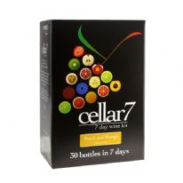 Cellar 7 Fruit Raspberry And Cassis 30 Bottle 7 Day Wine Kit